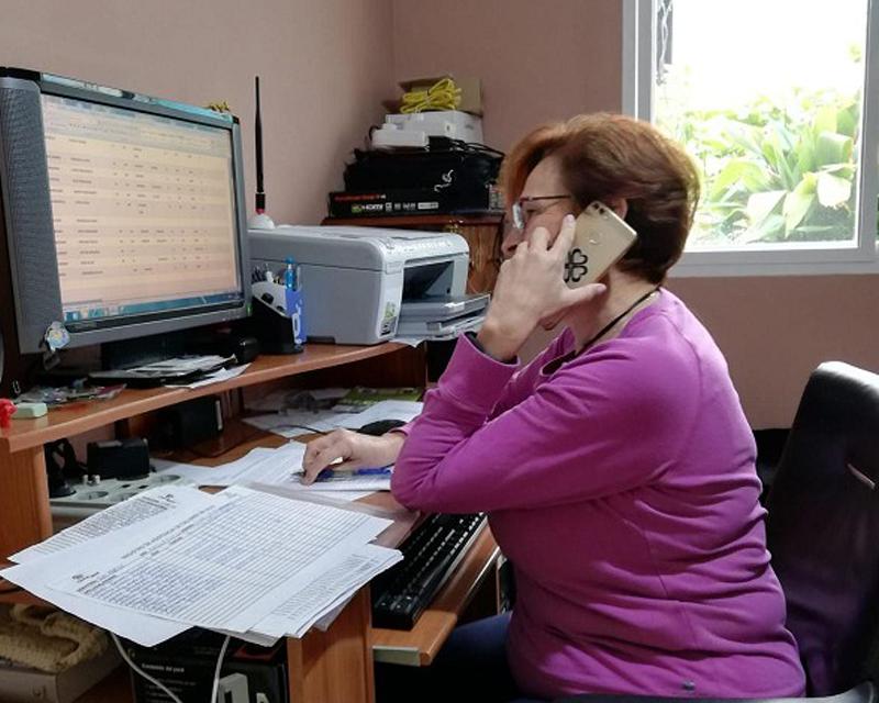 Teléfono atención al mayor